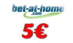 Bet at Home Voucher 5€ | Uz uplatu
